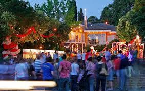Christmas lights ivanhoe