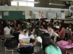 Classroom  Downey's Warren HS California