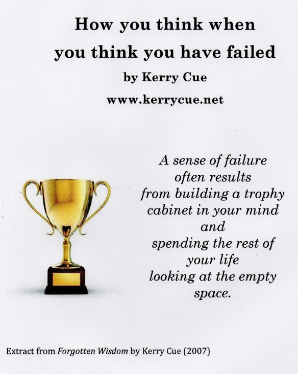 Kerry Cue Failure Quote
