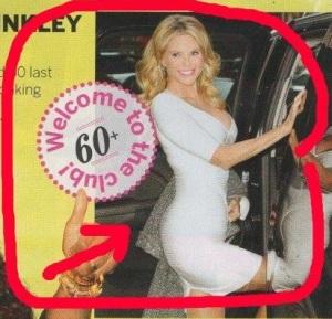 Christie Brinkly 60+ club 1