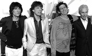 Rolling Stones Daily Mail UK