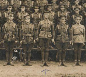 Michael O'Donnell 20th Rein 14th Batt, 1916