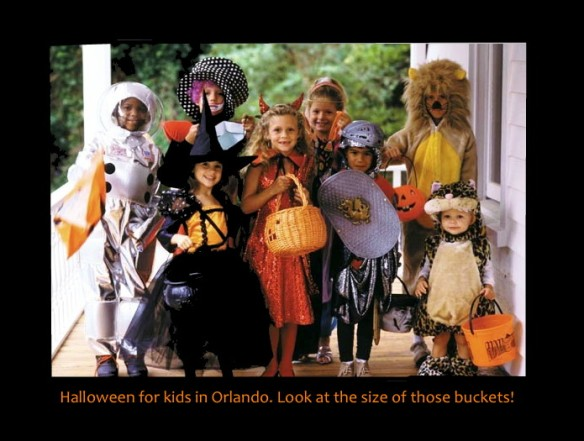 Halloween for kids in Orlando