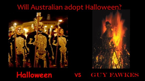 Halloween vs Guy Fawkes
