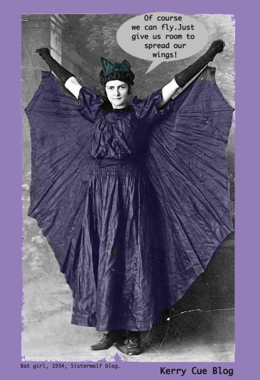 Bat Girl Kerry Cue Blog