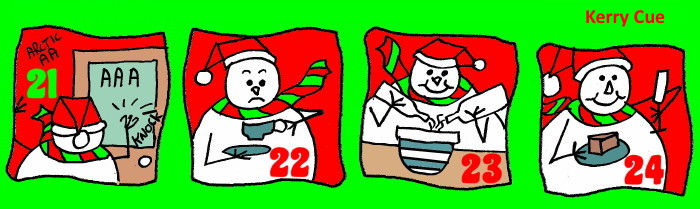 Advent Calendar 6 Silly Season Antidote